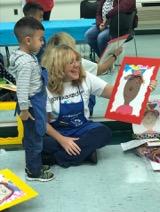 Teacher to help children develop creativity