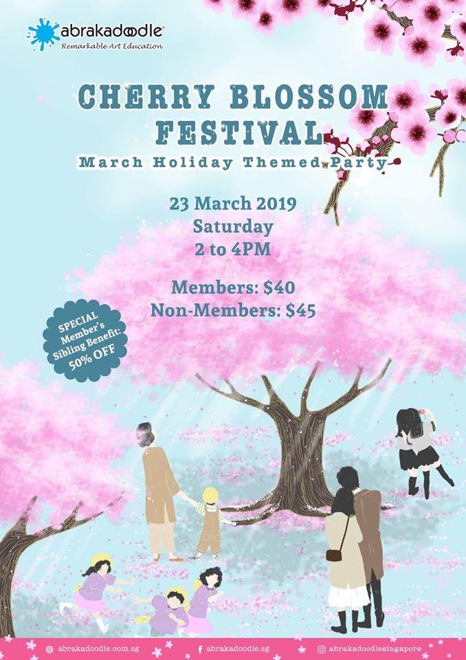 Cherry Blossom Art Festival