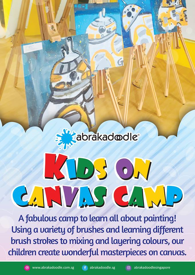 Kids art camp Singapore