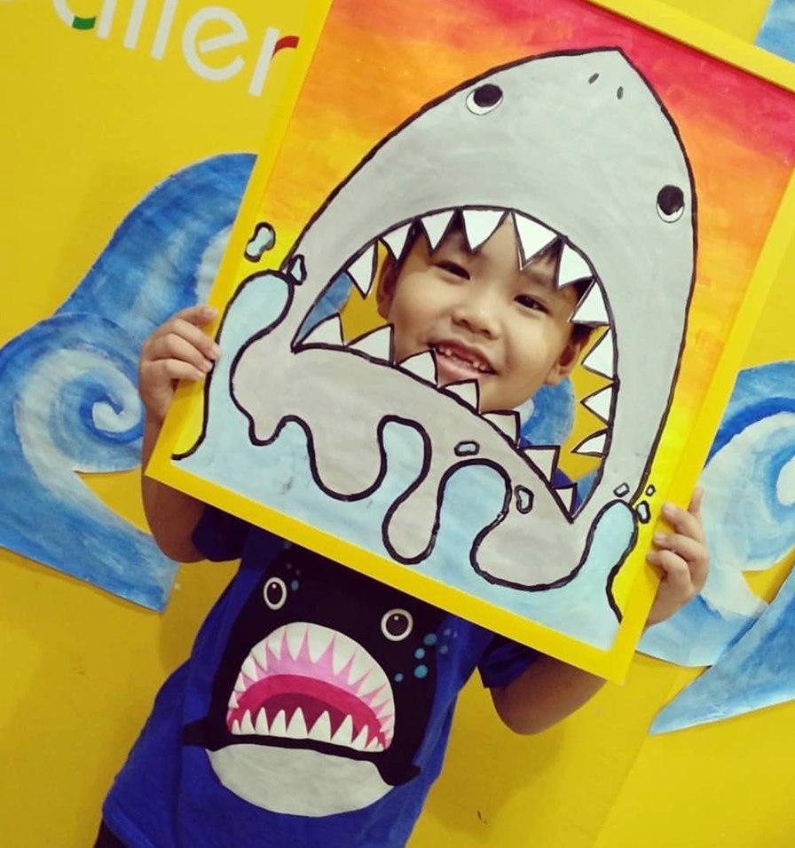 Kid's art birthday party Singapore
