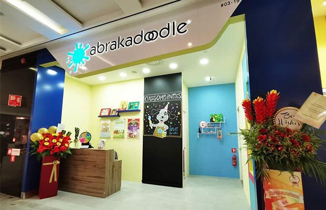 Abrakadoodle Art School at Jurong Singapore