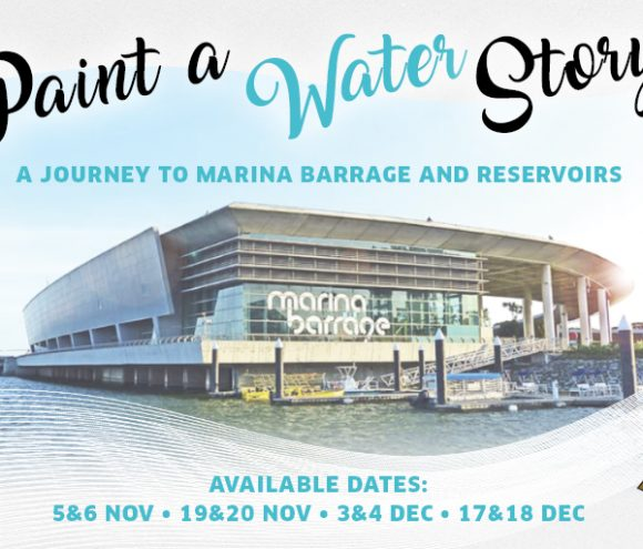 Paint a Water Story: A Journey to Marina Barrage and Reservoir