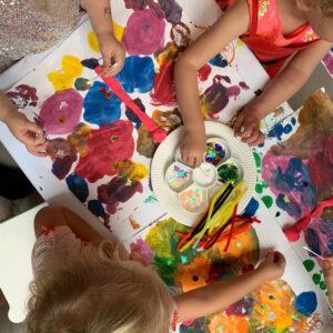 benefits of process art for preschoolers