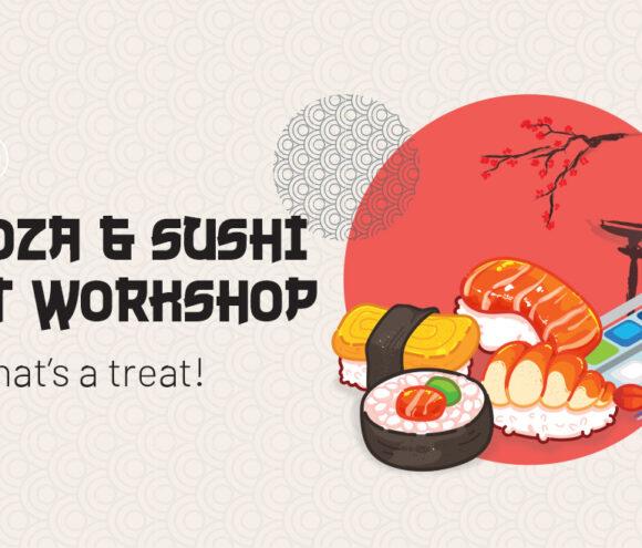 Gyoza & Sushi Workshop