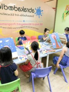 painting art classes for kids