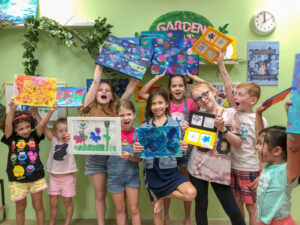 kid friendly art events