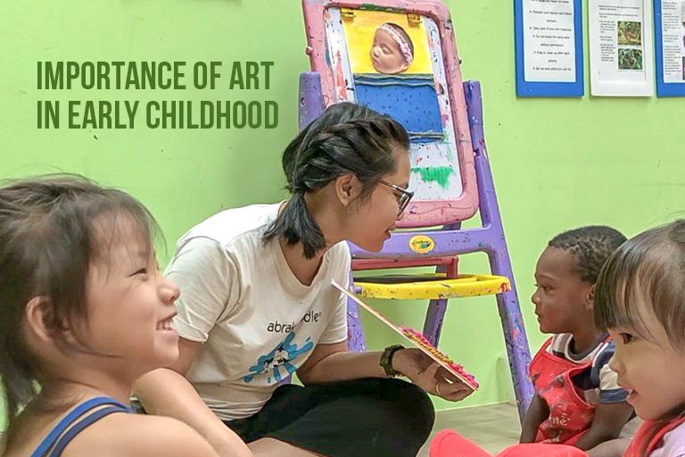visual arts program for preschoolers