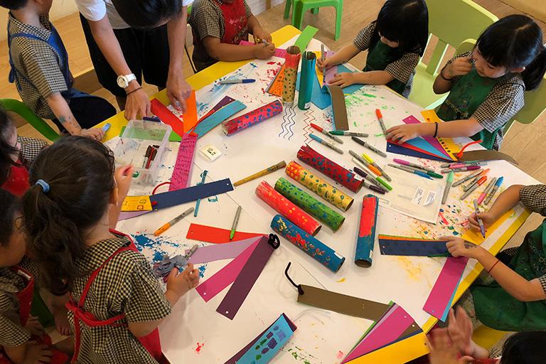 art class for preschoolers