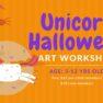 Unicorn Halloween Art Workshop