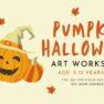 Pumpkin Halloween Art Workshop