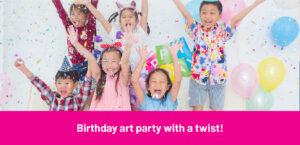 Birthday Art Party