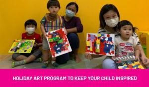 holiday art program for kids